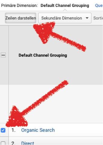 Default Channel Grouping