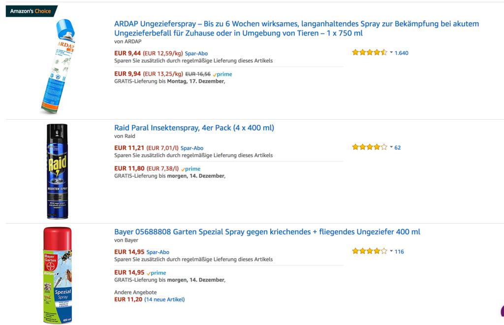 Amazon SERP