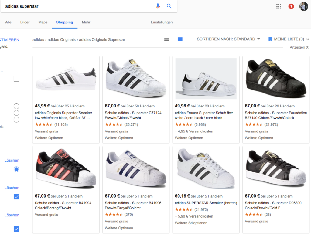 Google Shopping Google Shopping einbauen
