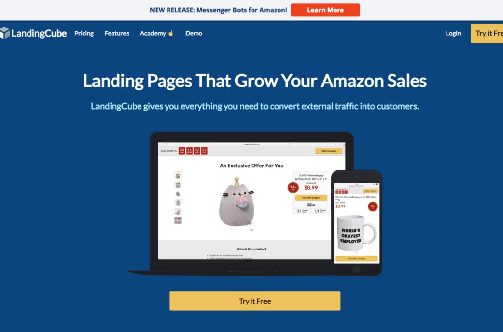 Landing-Page Externer Traffic