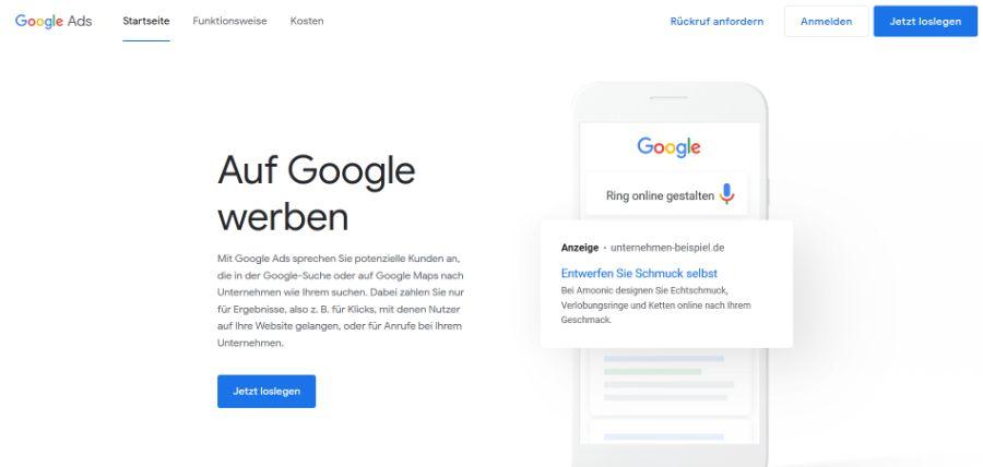 SEO Tools Google Ads