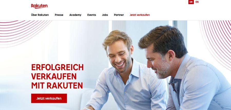 Rakuten: ecommerce marktplatz