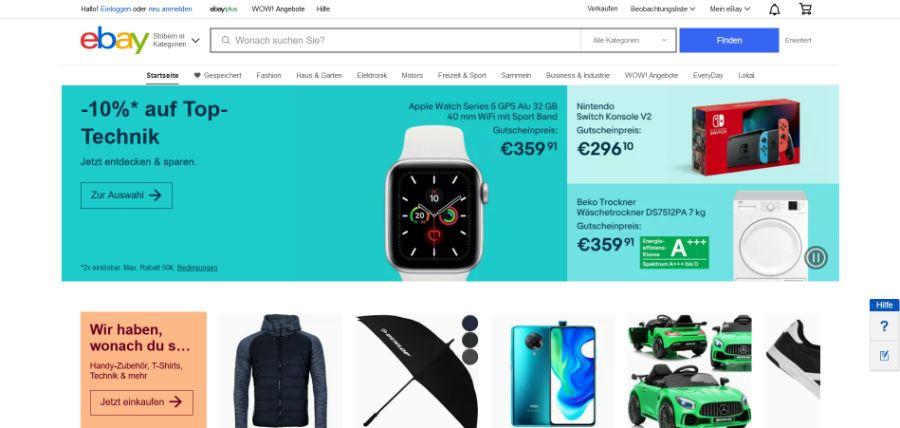 eBay - Online Marktplatz