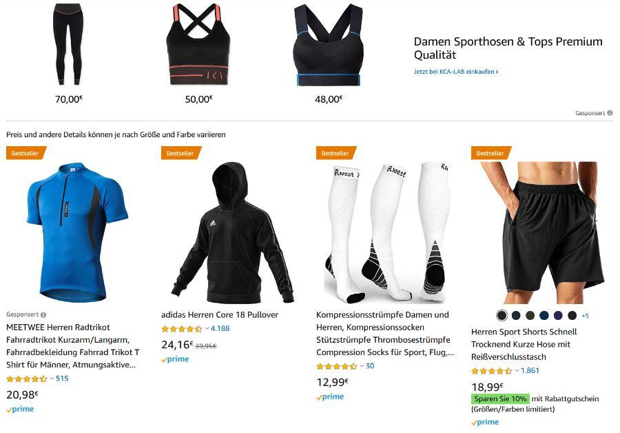 Amazon Bekleidung